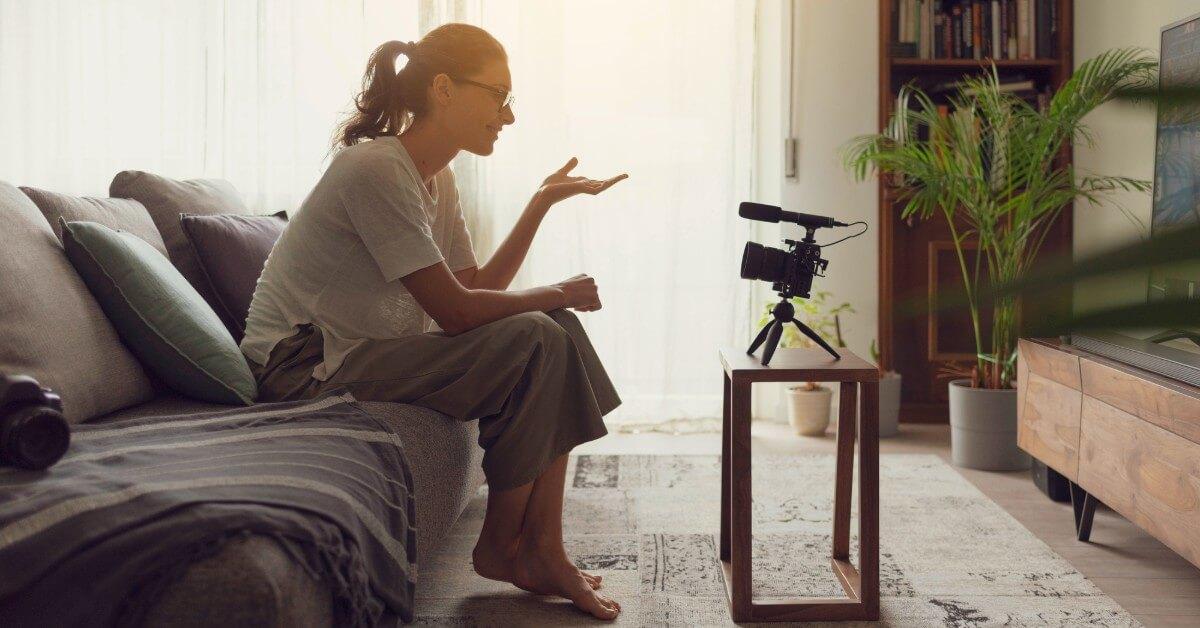 woman video